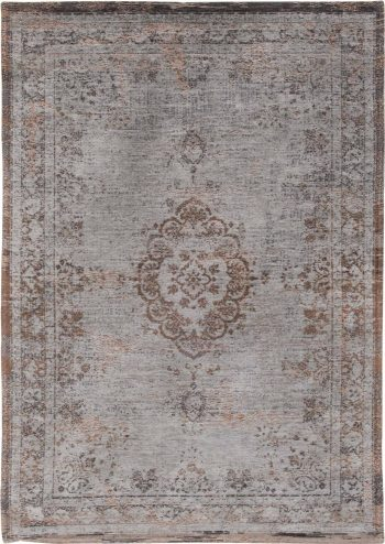 Louis De Poortere rug LX 8257 Fading World Medaillon Grey Ebony
