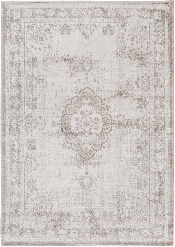 Louis De Poortere rug LX 8383 Fading World Medaillon Salt Pepper